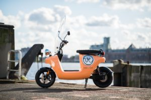 Van-eko scooter ©Merijn Soeters