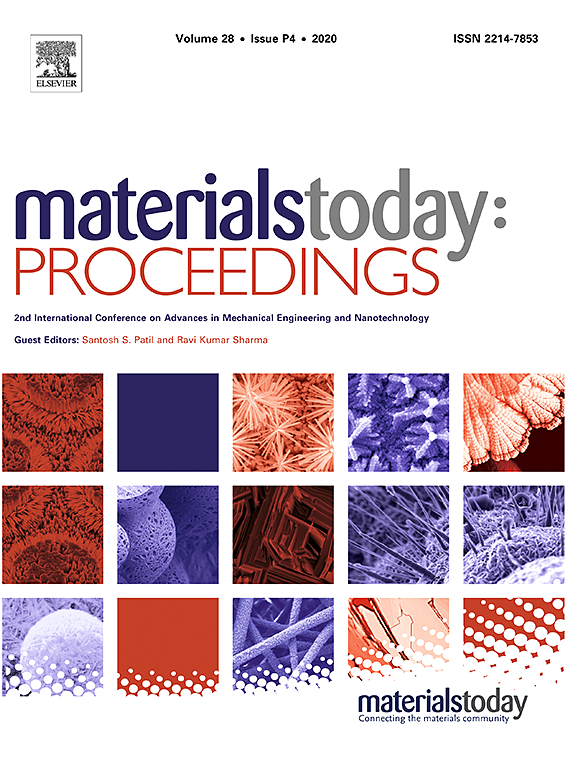 materials today proceedings