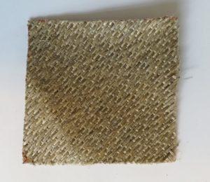 A Piece of Woven Hemp-based reinforcement